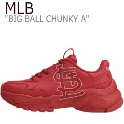 エムエルビー スニーカー MLB BIG BALL CHUNKY A ビッグ ボール チャンキー A セントルイスカージナルズ 32SHC1911-12R シューズ