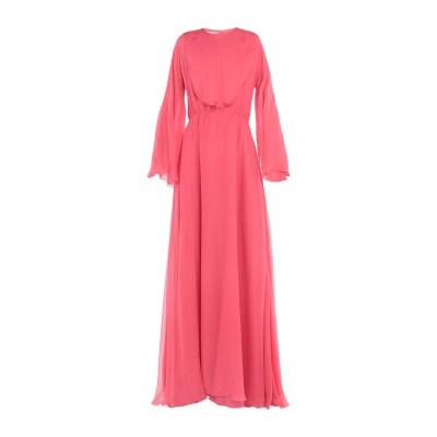 ヴァレンティノ VALENTINO ロングワンピース&ドレス コーラル 42 シルク 100% ロングワンピース&ドレス