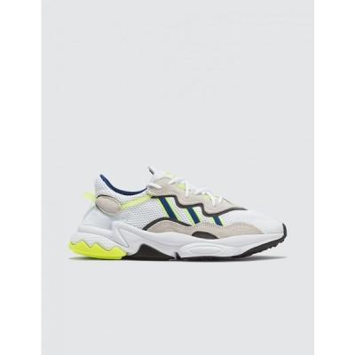 アディダス Adidas Originals メンズ スニーカー シューズ・靴 Ozweego White/Blue/Lime Green/Grey