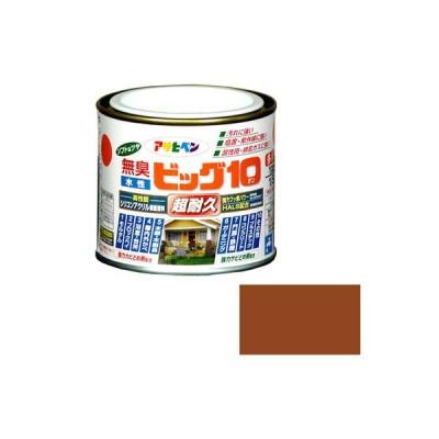 アサヒペン 水性ビッグ10 多用途 1/5L 232 カーキー色