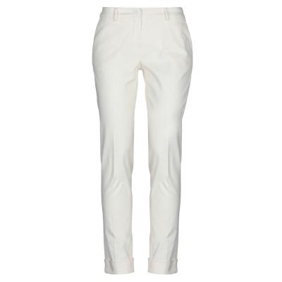 ボリオリ BOGLIOLI パンツ ホワイト 40 コットン 98% / ポリウレタン 2% パンツ