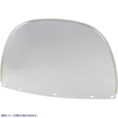 【取寄せ】  ドラッグスペシャリティーズ DRAG SPECIALTIES DS-710325 Replacement Upper Window - Clear  DS710325 ドラッグスペシャリテ