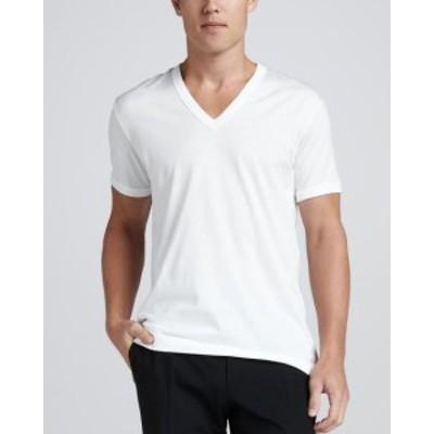 ファッション トップス NEW MENS HEAVY WEIGHT CLASSIC SPORT GYM UNDERSHIRT COTTON V NECK T SHIRT WHITE