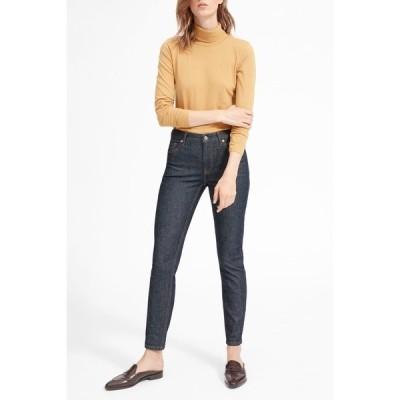 エバーレーン レディース デニムパンツ ボトムス The Mid Rise Skinny Jeans DARK INDIGO