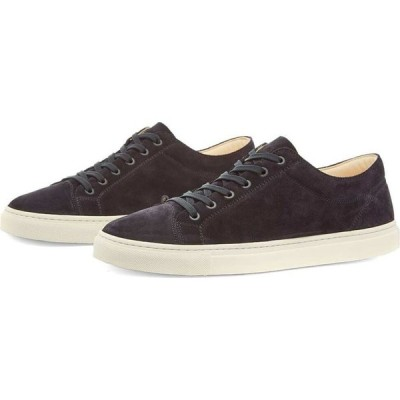 ETQ ETQ. Amsterdam メンズ スニーカー ローカット シューズ・靴 ETQ. Premium Suede Low Top 1 Sneaker Navy