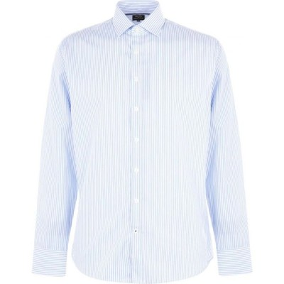 Westend By Simon Carter メンズ シャツ トップス Westend Bengal Stripe Shirt Blue