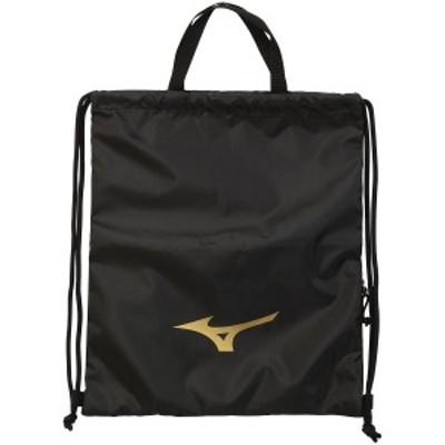 ミズノ スポーツアクセサリー ナップサック TSAランドリーバッグ 33JM1X0109 ブラック