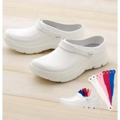 F-620 富士ゴムナースシューズ スクラビングシューズ「Choice !」 男女兼用(ホワイト 白 医療用 シューズ 靴 サンダル 抗菌 防臭 軽い