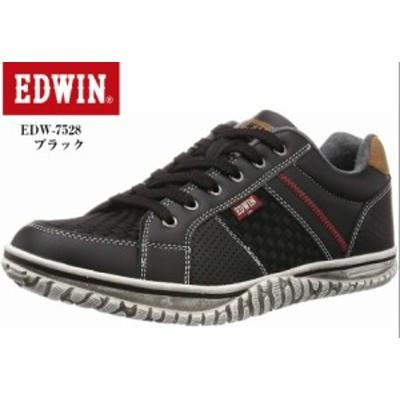EDWIN EDW-7528 (エドウィン) メンズ カジュアルローカットスニーカー 重厚感のあるアウトソールが特徴ですが、軽量仕様となっておりヴィ
