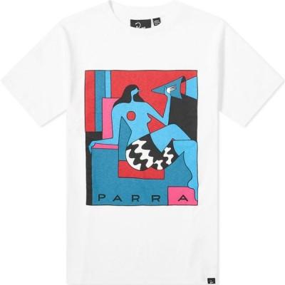 バイ パラ By Parra メンズ Tシャツ トップス too loud tee White