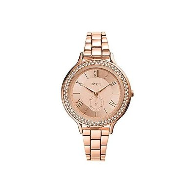 【新品未使用品】Fossil Neomi Three-Hand Watch - ES4950 Rose Gold Stainless Steel One Size【並行輸入品】