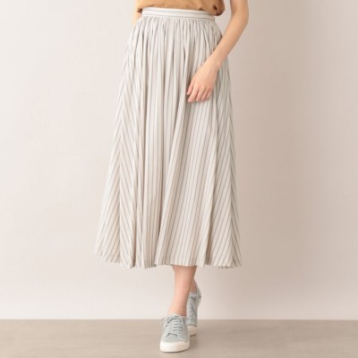 サマーストライプスカート