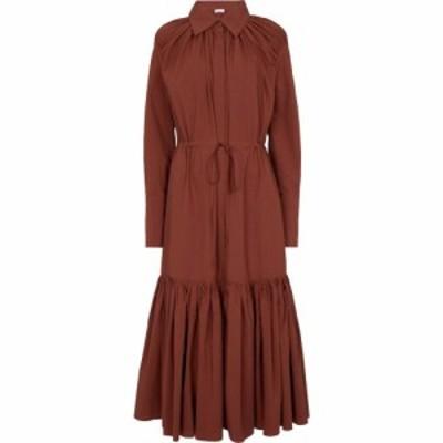 デヴォー ニューヨーク Deveaux New York レディース ワンピース シャツワンピース ワンピース・ドレス Samira cotton shirt dress Terra