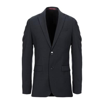HUGO HUGO BOSS テーラードジャケット スチールグレー 56 バージンウール 100% テーラードジャケット