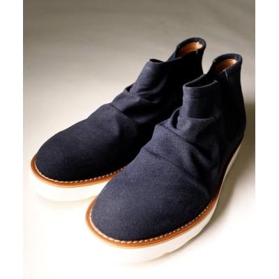 ブーツ 【DEDES】ドレープショートサイドゴアシューズ