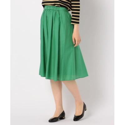FREDY&GLOSTER / 【WEB限定カラーあり】 Gigi 綿シルクローンスカート WOMEN スカート > スカート