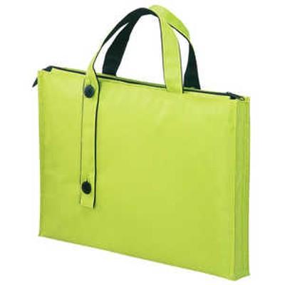 リヒトラブ キャリングバッグ 2ウェイタイプ スタンダード(B4サイズ対応) 黄緑 A76506