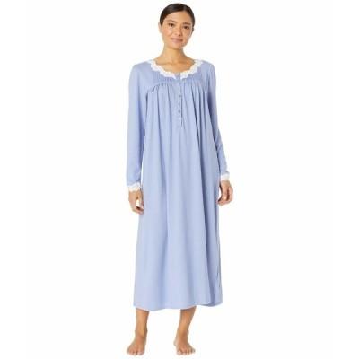 エイレーンウェスト ナイトウェア アンダーウェア レディース Sweater Knit Ballet Nightgown Cornflower