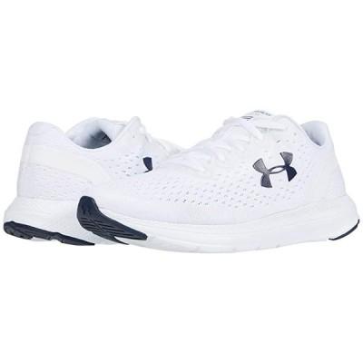 アンダー アーマー Charged Impulse メンズ スニーカー 靴 シューズ White/Halo Gray/Academy