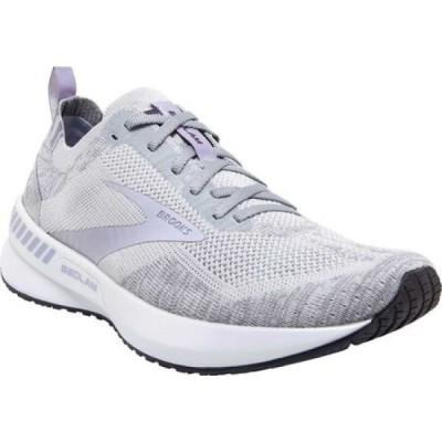 ブルックス Brooks レディース ランニング・ウォーキング スニーカー シューズ・靴 Bedlam 3 Knit Running Sneaker Oyster/Purple Heather/Grey