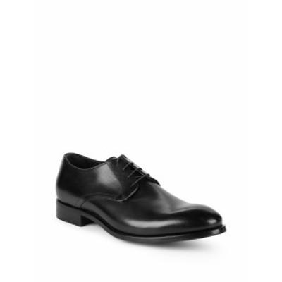 セオリー メンズ シューズ オックスフォード 革靴 Gillespie Polished Leather Dress Shoes