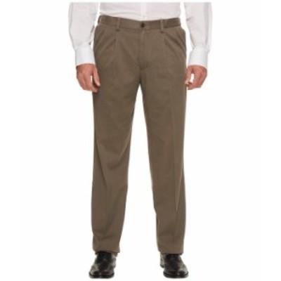 ドッカーズ メンズ カジュアルパンツ ボトムス Big & Tall Easy Khaki Pleated Pants Dark Pebble