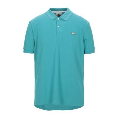 LACOSTE L!VE ポロシャツ エメラルドグリーン XL コットン 94% / ポリウレタン 6% ポロシャツ