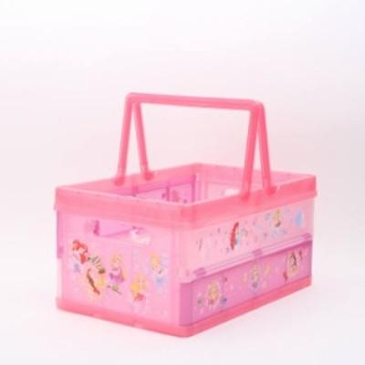 収納ボックス ディズニープリンセス 折りたたみ収納ボックス プリンセス/BWOT13 折り畳み おもちゃ入れ おもちゃボックス