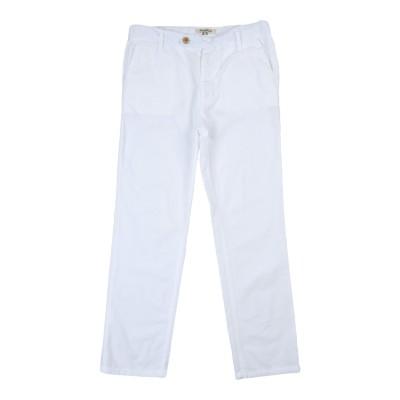 NUPKEET パンツ ホワイト 10 コットン 100% パンツ