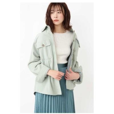 JILLSTUART(ジルスチュアート)◆モリースエードシャツジャケット