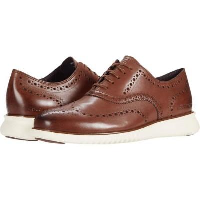 コールハーン Cole Haan メンズ 革靴・ビジネスシューズ ウイングチップ シューズ・靴 Zerogrand Wing Tip Oxford Chestnut/Ivory