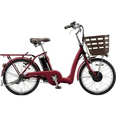 送料無料 ブリヂストン 電動アシスト自転車 ラクット RK4B41 T.Xルビーレツド
