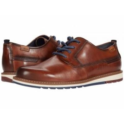 Pikolinos メンズ 男性用 シューズ 靴 オックスフォード 紳士靴 通勤靴 Berna M8J-4314 Cuero【送料無料】