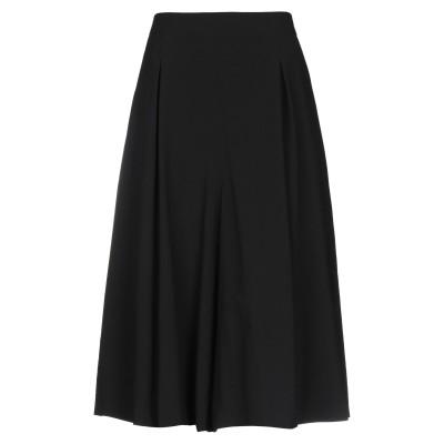 PS PAUL SMITH 7分丈スカート ブラック 46 ウール 100% 7分丈スカート