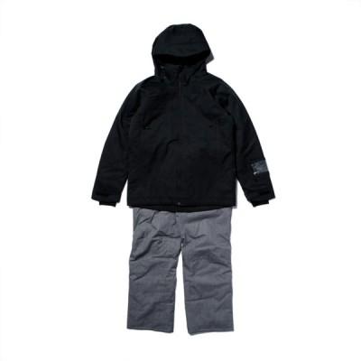 オンヨネ メンズ スキー ウェア上下セット MENS SUIT ONS92522 009P 19-20年モデル : ブラック×グレー ONYONE