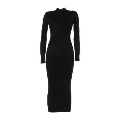 MARCIANO 7分丈ワンピース・ドレス ブラック M レーヨン 85% / ナイロン 14% / ポリウレタン 1% 7分丈ワンピース・ドレス