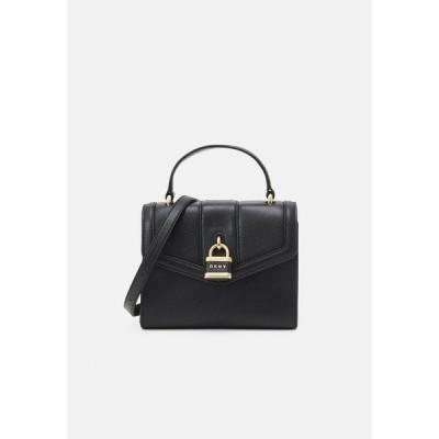 ダナ キャラン ニューヨーク ハンドバッグ レディース バッグ ELLA PEBBLE - Handbag - black/gold-coloured