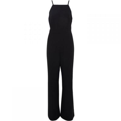 フレンチコネクション French Connection レディース オールインワン ジャンプスーツ ワンピース・ドレス Whisper Square Neck Jumpsuit Black