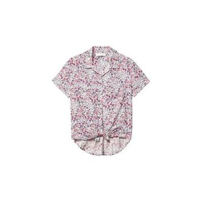 ラッキーブランド Tie Front Shirt レディース シャツ トップス Pink Multi