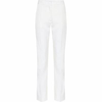 バーバリー Burberry レディース ボトムス・パンツ Wool pants natural white