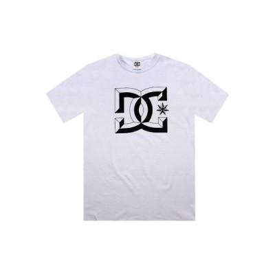 アクティブウェア トップス メンズ ディーシーシューズ DC Center D Tee (white) 55200209WHT