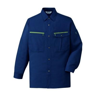 作業服オールシーズン 自重堂Jichodo 45904 長袖シャツ薄手混紡 綿・ポリエステル 帯電防止素材