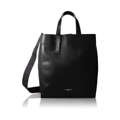 Liebeskind Berlin Women's Paper Bag Tote Shoppers, Black, 15x34x29 Centimeters (B x H x T) Medium 並行輸入品