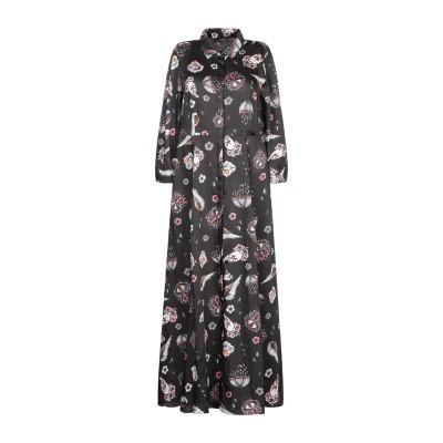 SOALLURE ロングワンピース&ドレス ブラック 40 ポリエステル 100% ロングワンピース&ドレス
