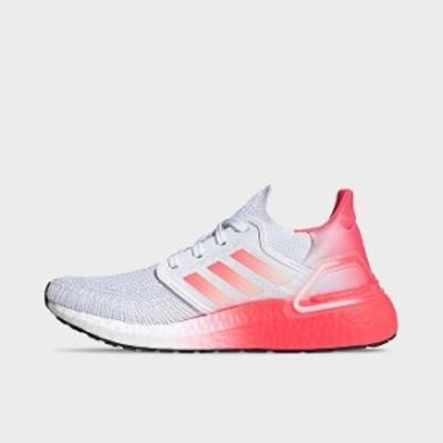 アディダス ウルトラブースト20 レディース adidas Ultraboost 19 ランニングシューズ Cloud White/Signal Pink