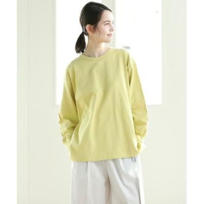 Pao de lo/パオデロ フードテキスタイル天竺ジャージロゴTシャツ イエロー 7号