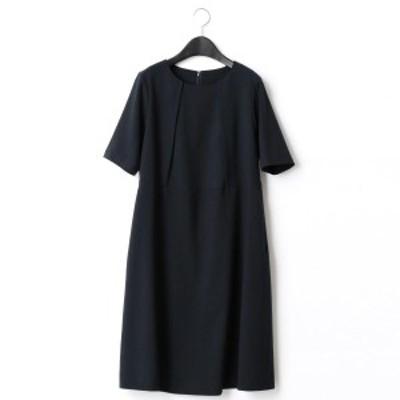 コムサブロンドオフ(COMME CA BLANC D'OEUF)/ウエスト切替ドレス(マタニティ)