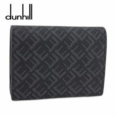 【2021春夏新作】 ダンヒル/dunhill メンズ  コインケース DU21R2025LT (ブラック/001) ダンヒル シグネチャー コインパース/小銭入れ/総