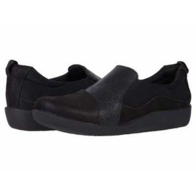 Clarks クラークス レディース 女性用 シューズ 靴 ローファー ボートシューズ Sillian Paz Black Snake Combination【送料無料】
