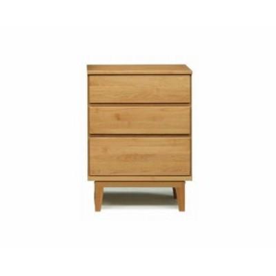 ローチェスト 完成品 木製 おしゃれ タンス収納 リビング収納 家具 60 3段 日本製